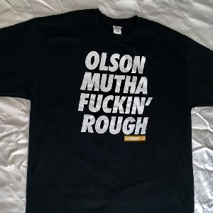 Olson Rudeboy Orange T-Shirt Black