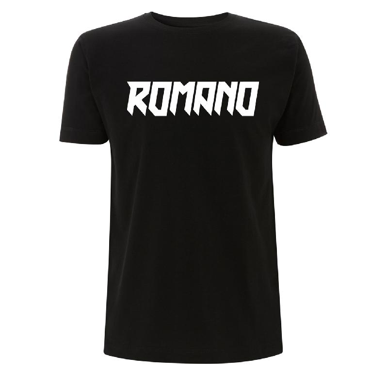 Romano Logo T-Shirt Black