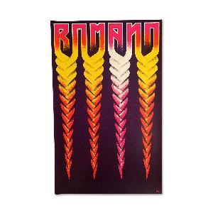 Romano Siebdruck Poster Rot Poster