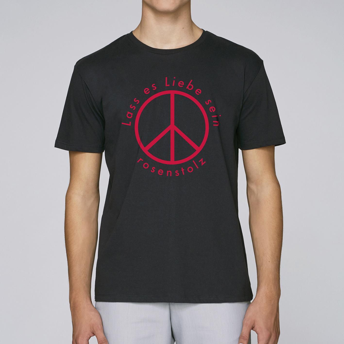 Rosenstolz Lass es Liebe sein Shirt Herren Shirt, schwarz