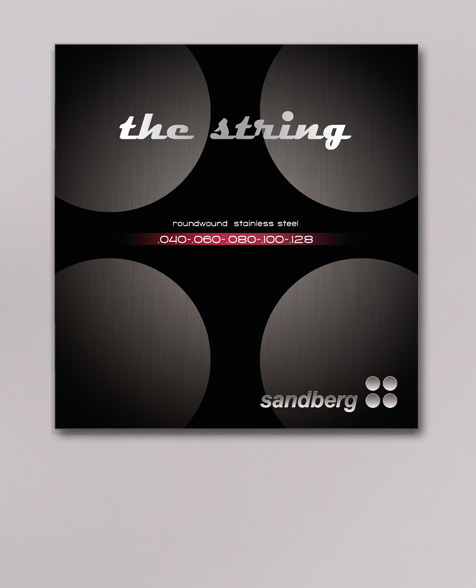 Sandberg 40-128 Saitensatz für E-Bass