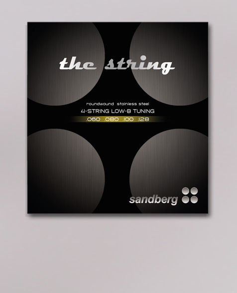 Sandberg 60-128 Saitensatz für E-Bass