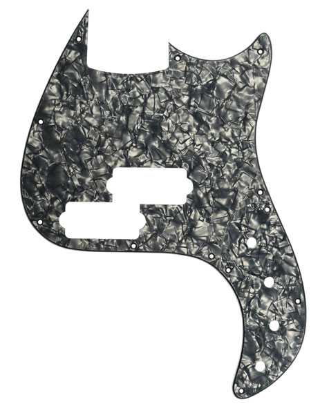 Sandberg California VT und VM Pickguard, blackpearl