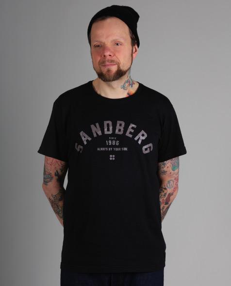 Sandberg Schriftzug T-Shirt, black