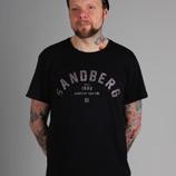 Sandberg Schriftzug T-Shirt schwarz