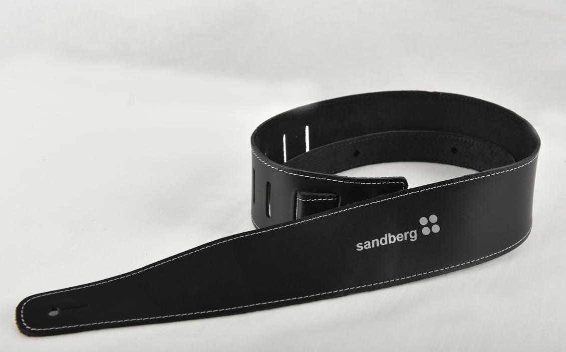 Sandberg Strap XXL Leather Strap, schwarz