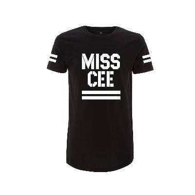 Sarah Connor Miss Cee Long-Shirt Shirt schwarz