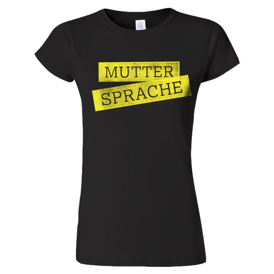 Sarah Connor Muttersprache Live 2017 Damen Shirt Girlie schwarz