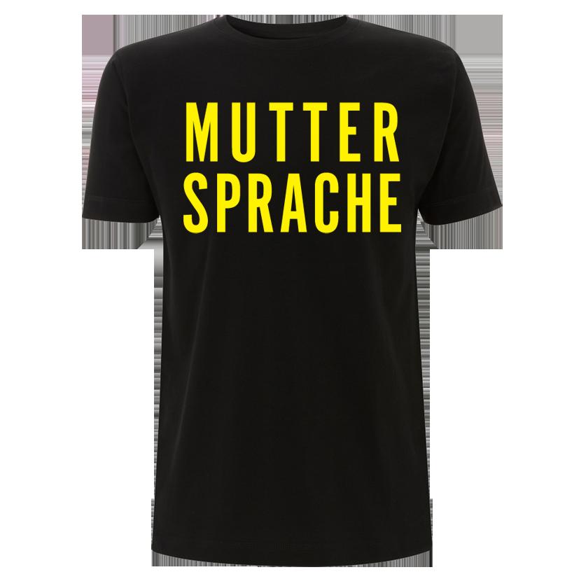 Sarah Connor Muttersprache T-Shirt 2016 unisex Shirt, schwarz