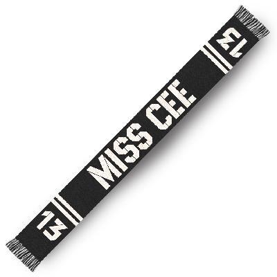 Sarah Connor VORBESTELLUNG: Miss Cee Fanschal Others schwarz-weiß