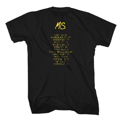 Schweighöfer Lachen Weinen Tanzen Tour T-Shirt schwarz