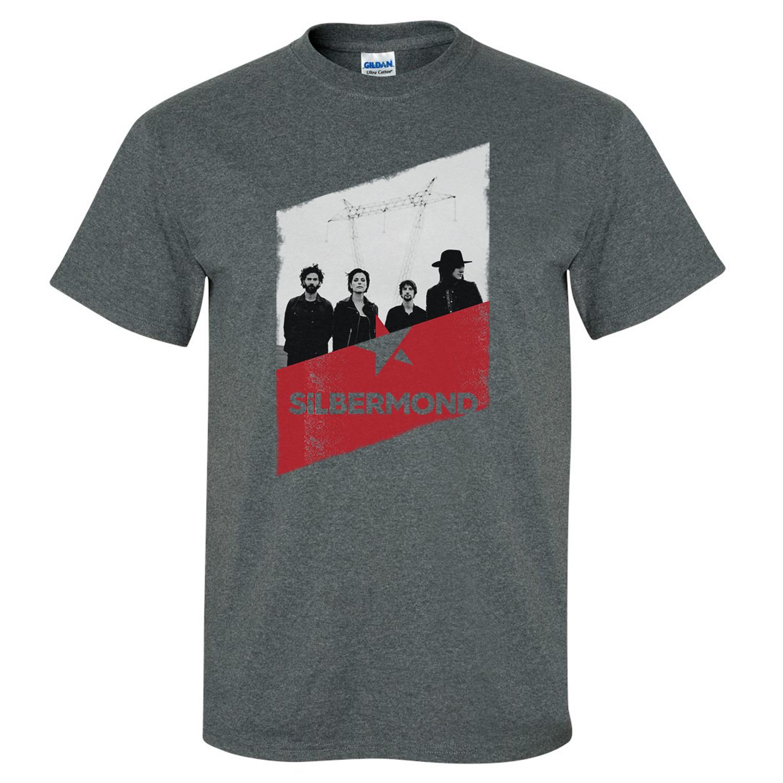 Silbermond Silbermond Shirt Men T-Shirt, grau