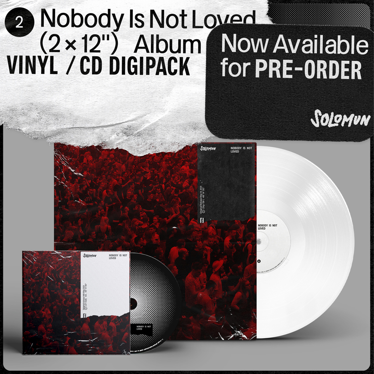 Solomun Nobody Is Not Loved (CD Digipack) OUT MAY 15TH 2021 CD PREORDER