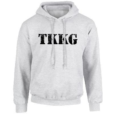 TKKG TKKG Logo-Hoodie Version schwarz unisex Hoodie grau meliert