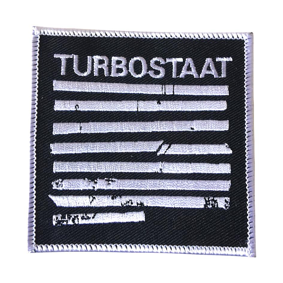 Turbostaat Balken Aufnäher Patch
