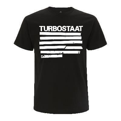 Turbostaat Balken (Herren) Shirt BIO schwarz