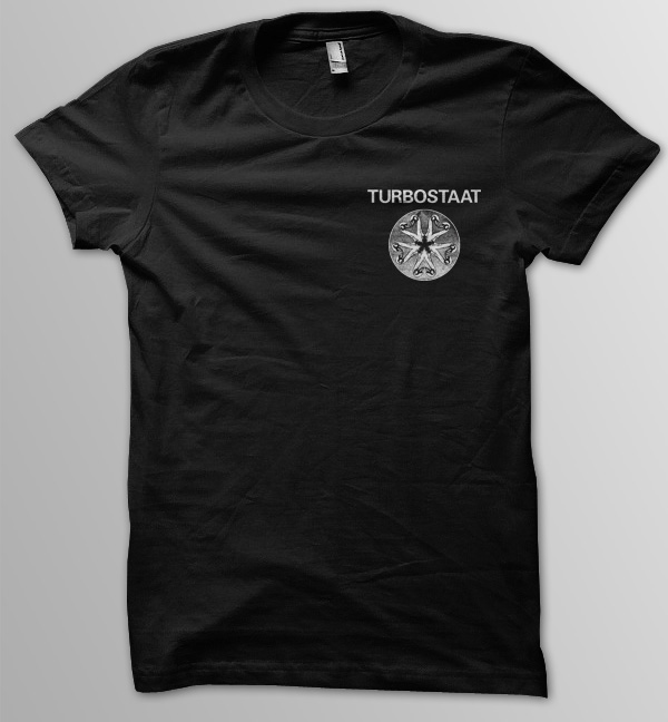 Turbostaat Kleeblatt Pocket Männer T-Shirt schwarz