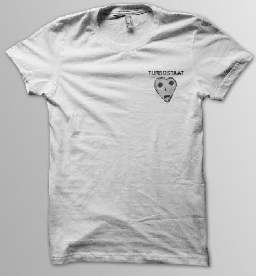 Turbostaat Peterherz Pocket Männer T-Shirt weiß