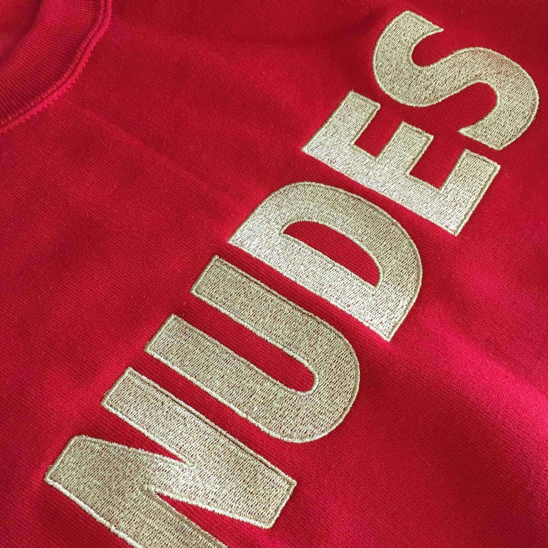 Weiter Weiter Nudes Sweater Red