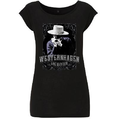 Westernhagen Tour T-Shirt Damen Girlie back