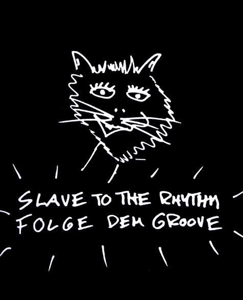 Wolf Maahn Cat Girlie black