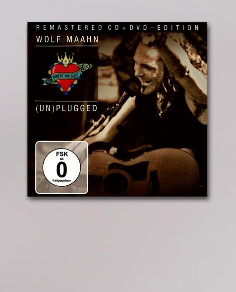Wolf Maahn Direkt ins Blut (Remastered) CD/DVD