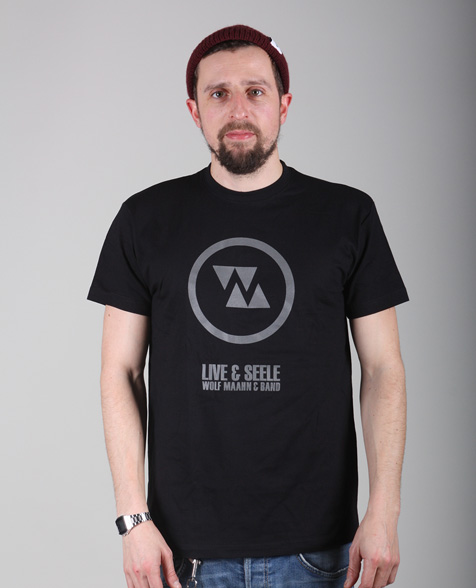 Wolf Maahn Live & Seele T-Shirt, black