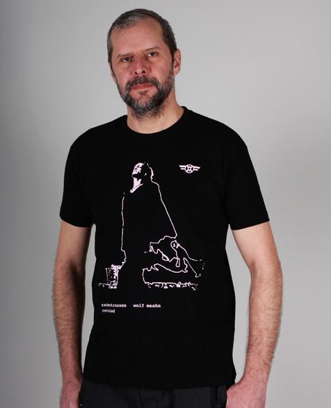 Wolf Maahn Zauberstrassen T-Shirt, black