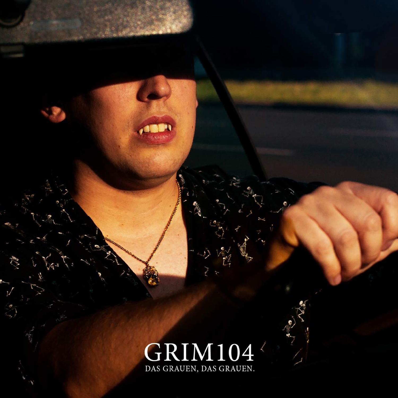 Zugezogen Maskulin Grim104 - Das Grauen, das Grauen Black Vinyl LP