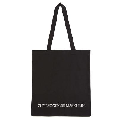 """Zugezogen Maskulin ZM """"Was für eine Zeit"""" Bag / PREORDER Beutel Black"""