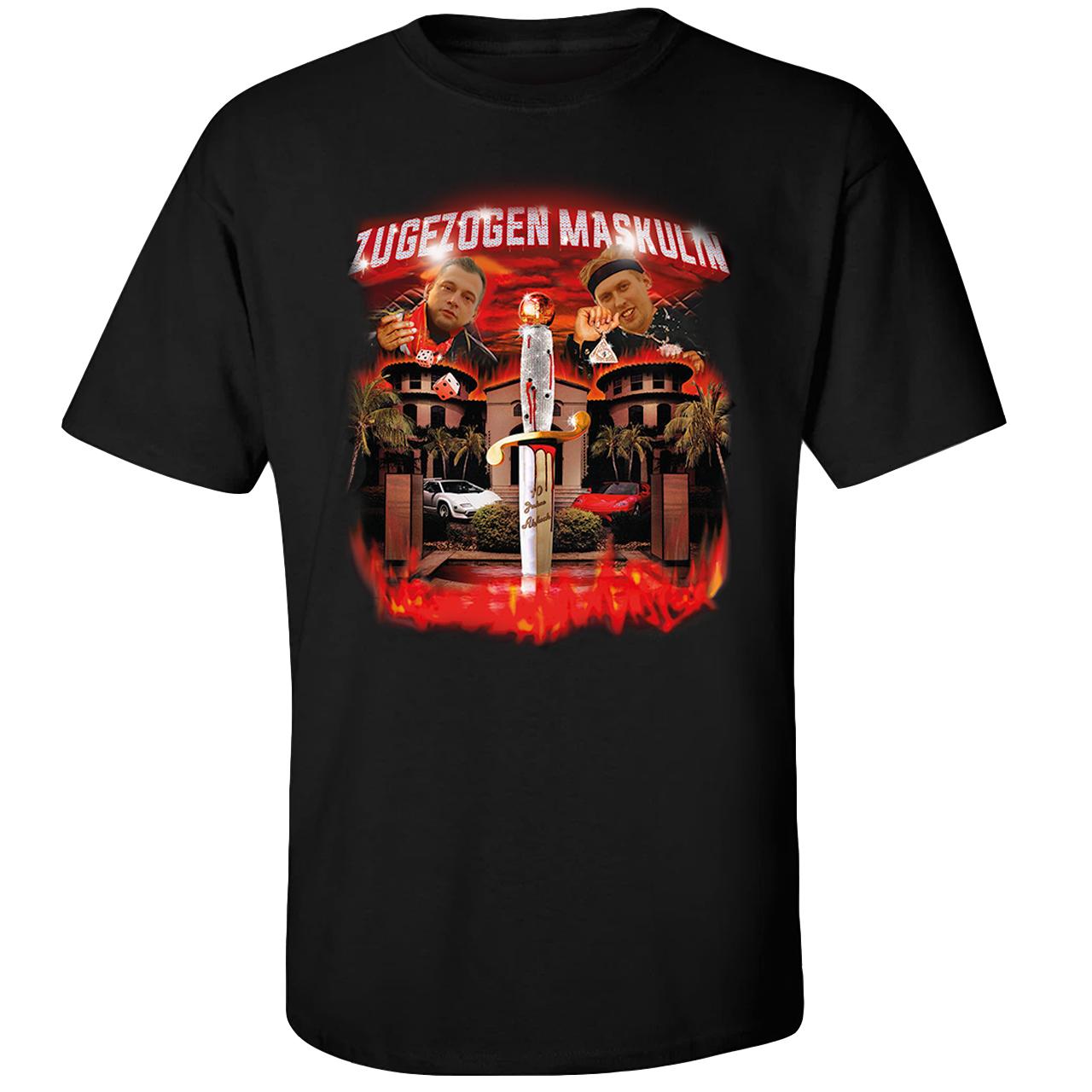 Zugezogen Maskulin ZM Edition 21 Savage / PREORDER bis 27.11. T-Shirt, Schwarz